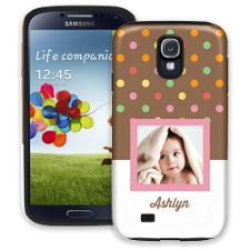Ice Cream Sundae Samsung Galaxy S4 ColorStrong Cush-Pro Case
