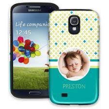 Teal Dreams Samsung Galaxy S4 ColorStrong Cush-Pro Case