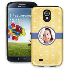 Blue Ribbon Anchors Samsung Galaxy S4 ColorStrong Cush-Pro Case