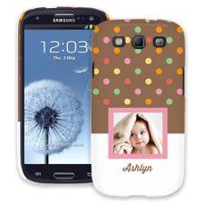 Ice Cream Sundae Samsung Galaxy S3 ColorStrong Slim-Pro Case