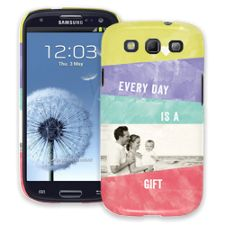 Pastel Bars Samsung Galaxy S3 ColorStrong Slim-Pro Case