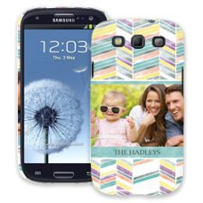 Colored Chalk Chevron Samsung Galaxy S3 ColorStrong Slim-Pro Case