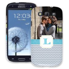 Chevron Initial Samsung Galaxy S3 ColorStrong Slim-Pro Case