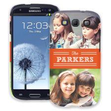 Orange Bar Samsung Galaxy S3 ColorStrong Slim-Pro Case