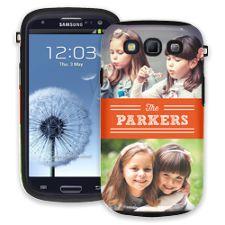 Orange Bar Samsung Galaxy S3 ColorStrong Cush-Pro Case