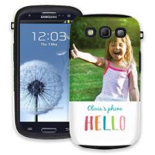 Crayon Hello Samsung Galaxy S3 ColorStrong Cush-Pro Case