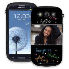 Neon Hello Samsung Galaxy S3 ColorStrong Cush-Pro Case