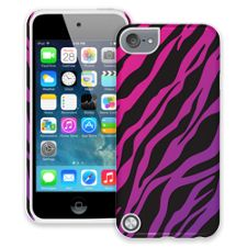 Pink and Purple Zebra iPod Touch 5 ColorStrong Cush-Pro Case