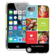 Bright Live Laugh Love iPod Touch 5 ColorStrong Cush-Pro Case