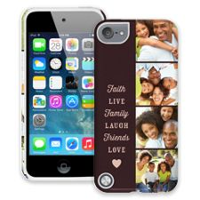 Chocolate Live Laugh Love iPod Touch 5 ColorStrong Cush-Pro Case