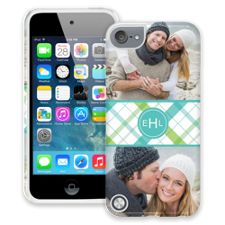 Spring Plaid iPod Touch 5 ColorStrong Cush-Pro Case