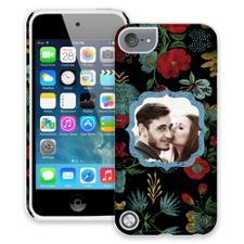 Bright Floral on Black iPod Touch 5 ColorStrong Cush-Pro Case