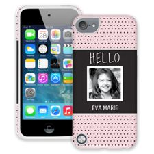 Retro Dots iPod Touch 5 ColorStrong Cush-Pro Case