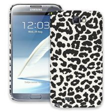 Black and White Leopard Samsung Galaxy Note 2 ColorStrong Slim-Pro Case