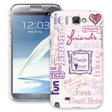 Friends Pink Samsung Galaxy Note 2 ColorStrong Slim-Pro Case