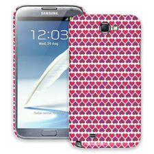 Hearts White Samsung Galaxy Note 2 ColorStrong Slim-Pro Case