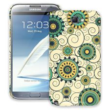 Swirls Yellow Samsung Galaxy Note 2 ColorStrong Slim-Pro Case