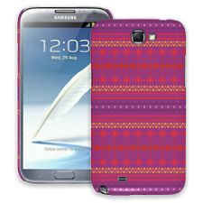 Purple Tribal Samsung Galaxy Note 2 ColorStrong Slim-Pro Case