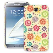 Tribal Sun Pattern Samsung Galaxy Note 2 ColorStrong Slim-Pro Case