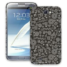 Black and White Tribal Samsung Galaxy Note 2 ColorStrong Slim-Pro Case