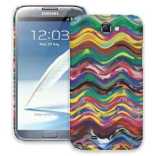 Wavy Paint Swirls Samsung Galaxy Note 2 ColorStrong Slim-Pro Case