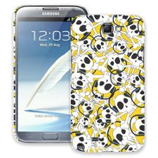 Skull Prince with Beats on Yellow Samsung Galaxy Note 2 ColorStrong Slim-Pro Case