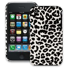 Black and White Leopard iPhone 3GS ColorStrong Slim-Pro Case
