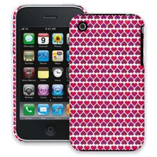 Hearts White iPhone 3GS ColorStrong Slim-Pro Case