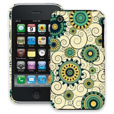 Swirls Yellow iPhone 3GS ColorStrong Slim-Pro Case