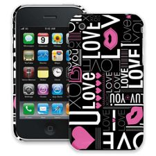 Love iPhone 3GS ColorStrong Slim-Pro Case
