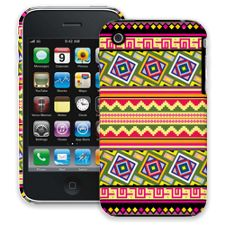 Happy Bright Tribal iPhone 3GS ColorStrong Slim-Pro Case