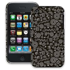 Black and White Tribal iPhone 3GS ColorStrong Slim-Pro Case
