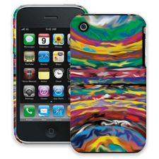 Psychedelic Paint Swirls iPhone 3GS ColorStrong Slim-Pro Case