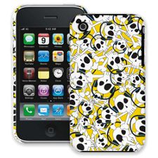 Skull Prince with Beats on Yellow iPhone 3GS ColorStrong Slim-Pro Case
