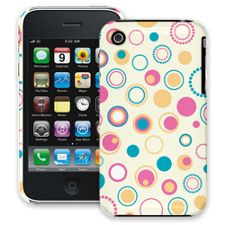 Retro Pink and Blue iPhone 3GS ColorStrong Slim-Pro Case