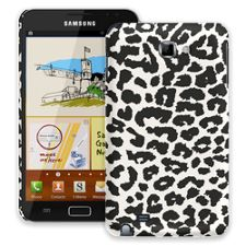 Black and White Leopard Samsung Galaxy Note ColorStrong Slim-Pro Case