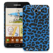 Blue Leopard Samsung Galaxy Note ColorStrong Slim-Pro Case