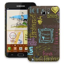 Friends Neon Samsung Galaxy Note ColorStrong Slim-Pro Case