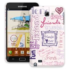Friends Pink Samsung Galaxy Note ColorStrong Slim-Pro Case