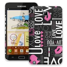 Love Samsung Galaxy Note ColorStrong Slim-Pro Case
