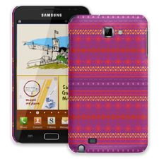 Purple Tribal Samsung Galaxy Note ColorStrong Slim-Pro Case