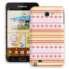 Orange Tribal Samsung Galaxy Note ColorStrong Slim-Pro Case