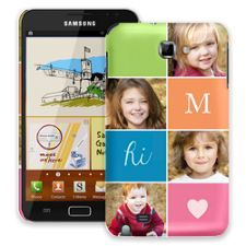 ColorBlocks Samsung Galaxy Note ColorStrong Slim-Pro Case