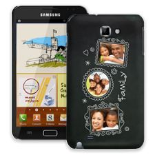 Chalk Portraits Trio Samsung Galaxy Note ColorStrong Slim-Pro Case