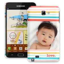 Wavy Stripes Samsung Galaxy Note ColorStrong Slim-Pro Case