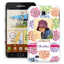 Chrysanthemum Fireworks Samsung Galaxy Note ColorStrong Slim-Pro Case