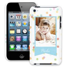 Paper Dots iPod Touch 4 ColorStrong Slim-Pro Case