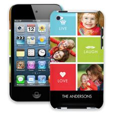 Bright Live Laugh Love iPod Touch 4 ColorStrong Slim-Pro Case