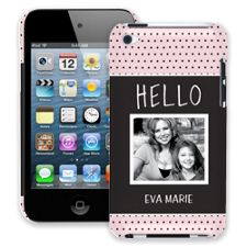 Retro Dots iPod Touch 4 ColorStrong Slim-Pro Case