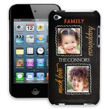Family Portrait Duo iPod Touch 4 ColorStrong Slim-Pro Case